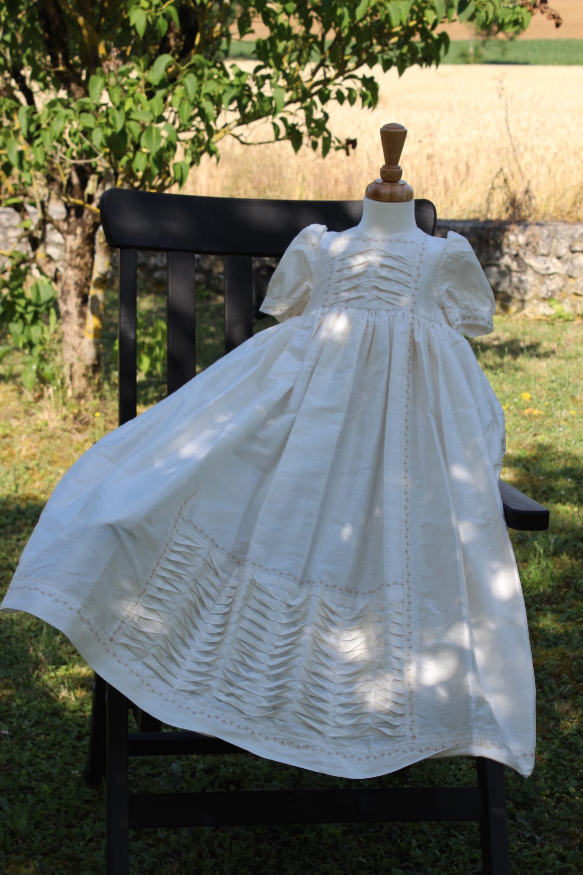 """6a614b2c97c28 For 12 years I ran my own business called """"Spangles Christening Wear""""… If  you have some experience of sewing, you can make an heirloom Christening  outfit, ..."""